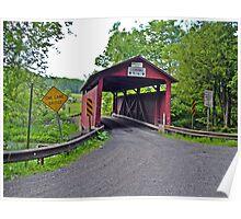 Covered bridge 12 Poster
