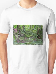 Abstract art from Nature - currents T-Shirt