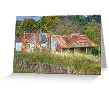 Dennington's Cottage, Hill End, NSW, Australia  Greeting Card