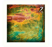 Rust art 1 Art Print