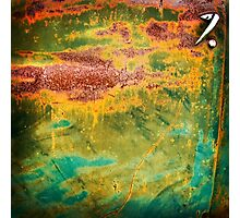Rust art 1 Photographic Print