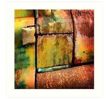 Rust art 3 Art Print