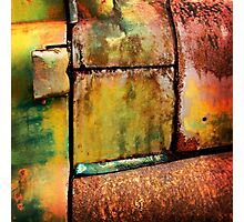 Rust art 3 Photographic Print