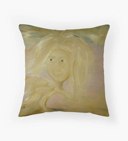 self portrait uni Throw Pillow