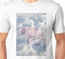 Beary White #redbubble Unisex T-Shirt