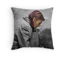 Down, but not out! Throw Pillow