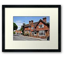 Surrey Countryside Framed Print