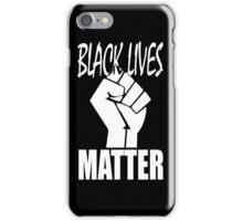 Black Lives Matter Fist iPhone Case/Skin