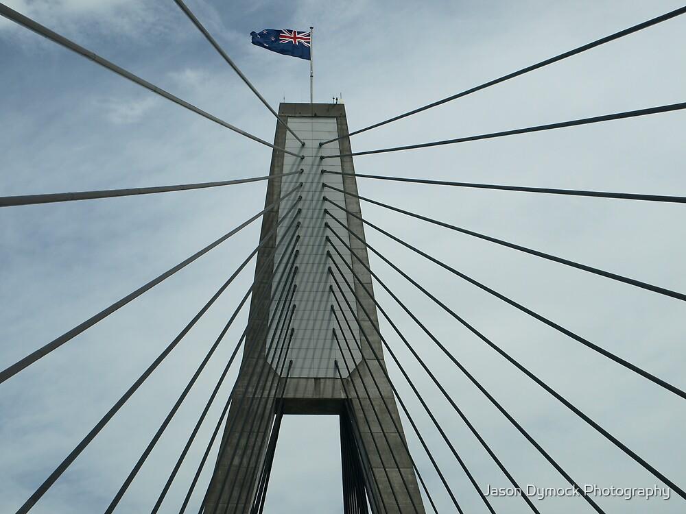 Glebe Island Bridge by Jason Dymock Photography