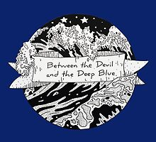 Between the Devil and the Deep Blue Sea, Graphic Illustration by bblane