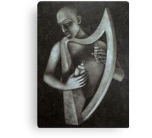 the harp ( day one ) Canvas Print