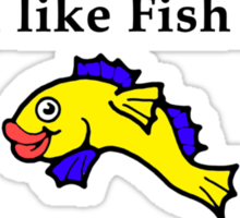 South Park do you like fish sticks joke Sticker