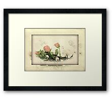 In the most delightful way!!! © Framed Print