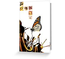 Last Place Butterfly Two Greeting Card