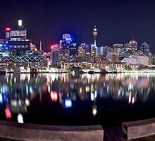 Stunning Sydney lights by donnnnnny