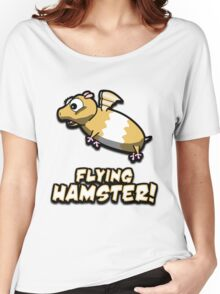 Hambert The Flying Hamster! Women's Relaxed Fit T-Shirt
