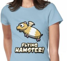 Hambert The Flying Hamster! Womens Fitted T-Shirt