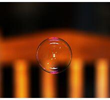 Bubble & Chair Photographic Print