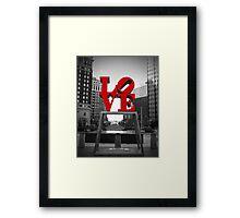 JFK Plaza Framed Print