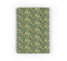 Field of Daffodils Abstract Spiral Notebook