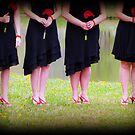 Angels Wanna Wear My Red Shoes by Rose Gallik
