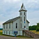 Long Bottom Ohio United Methodist Church by Bryan D. Spellman
