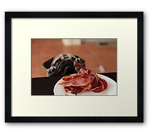 Want! Bacon! Stat! Framed Print