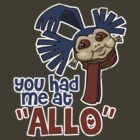'You had me at 'Allo'' (Labyrinth) by James Hance