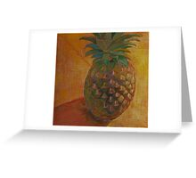 """Pineapple"" Greeting Card"