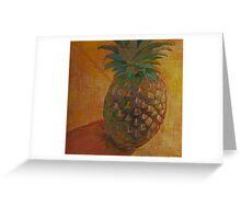 """Pineapple"" Greeting Card"