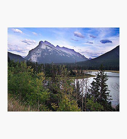 Mt. Rundle Photographic Print