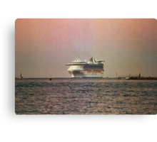 The Shipping News Canvas Print
