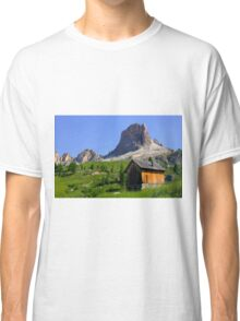 A chalet near Averau  Classic T-Shirt