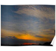 A pressured sky Poster