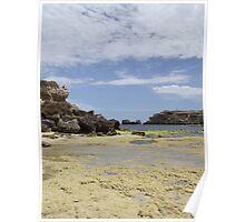 low tide - port mac Poster