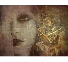 Golden Metamorphosis Photographic Print