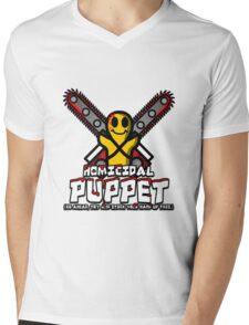 Homicidal Puppet Mens V-Neck T-Shirt