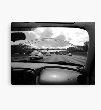 Denver from the Inside Canvas Print