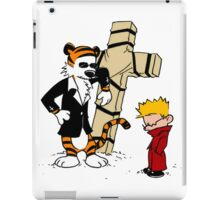 calvin and hobbes iPad Case/Skin