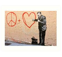 Banksy - Doctor Love - San Francisco, CA 2010 Art Print