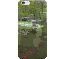 HIMEJI GARDENS ONE iPhone Case/Skin