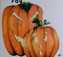 Boo! by Elizabeth De La Cruz