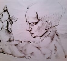 Finder Painting by Elizabeth De La Cruz