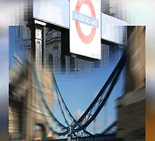 the edge of my eye on london V by fuatnoor