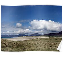 A Windy Day on the Isle of Harris Poster