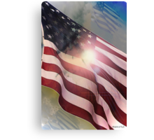 In A Blaze of Glory Canvas Print
