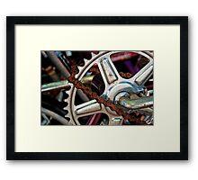 The Last Link Framed Print