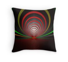 Spiral Pipes Throw Pillow