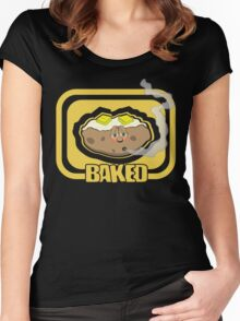 Funny Shirt - Baked Women's Fitted Scoop T-Shirt