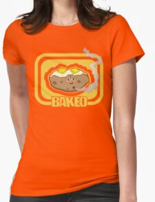 Funny Shirt - Baked Womens Fitted T-Shirt